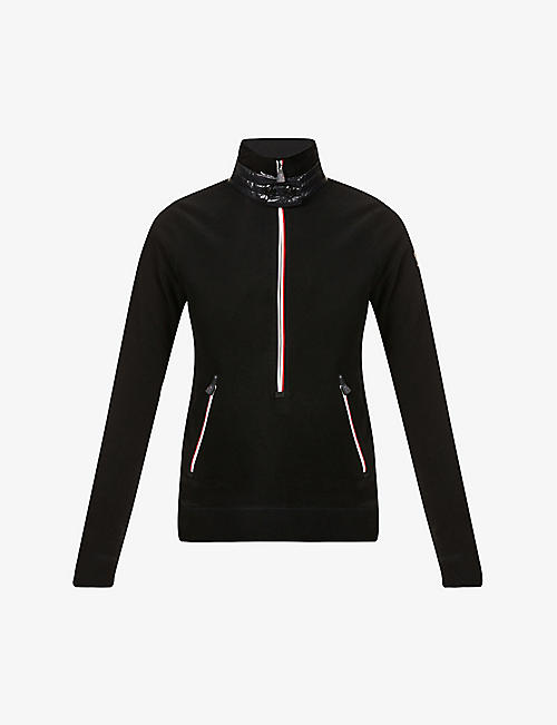 MONCLER: Lupetto Grenoble fleece jacket