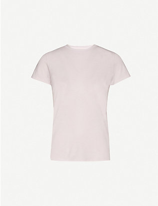 VINCE: Short-sleeve cotton-jersey T-shirt