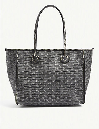 MOREAU PARIS: Celestin small jacquard tote bag