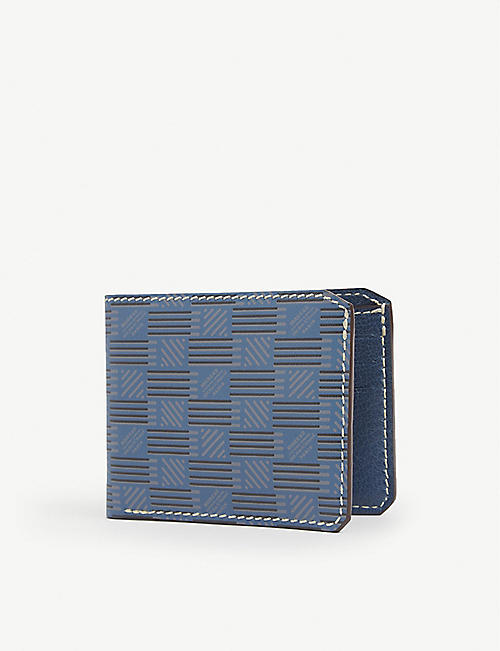 MOREAU PARIS: Portefeuille leather wallet