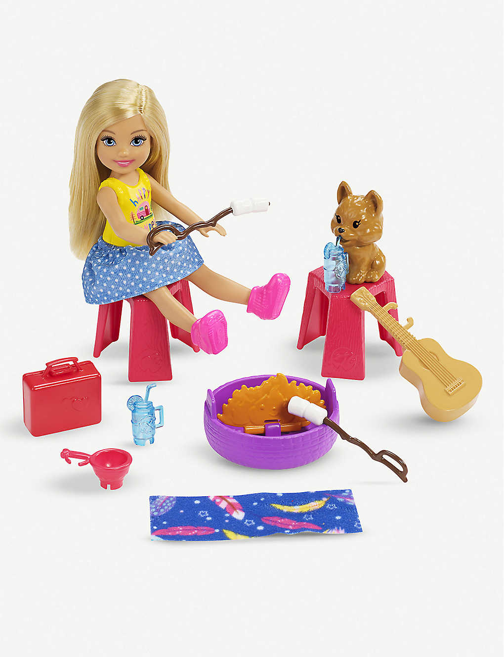 BARBIE: Barbie Club Chelsea Camper playset