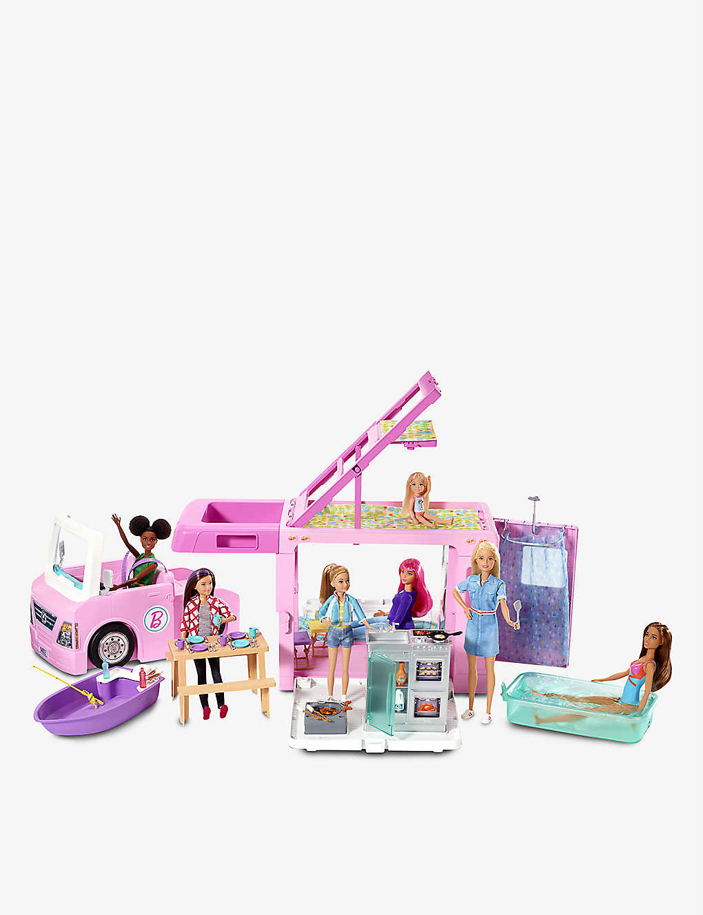BARBIE: Dream Camper playset