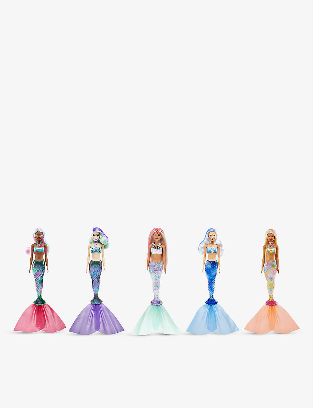BARBIE: Barbie Colour Reveal mermaid doll