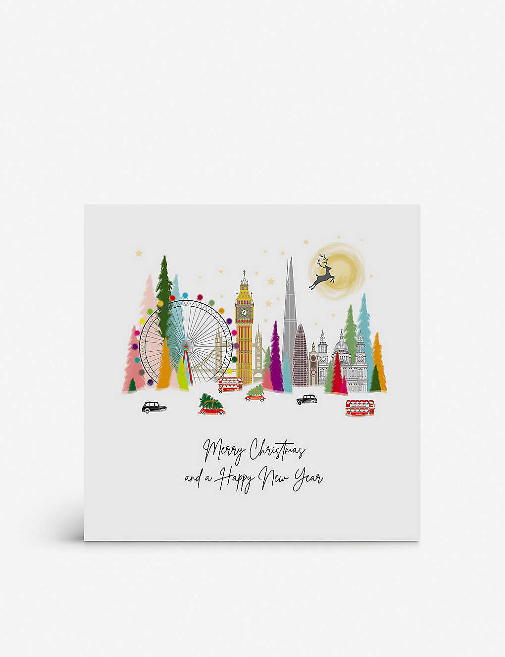 FIVE DOLLAR SHAKE: Merry Christmas and Happy New Year greetings card 17cm x 17cm