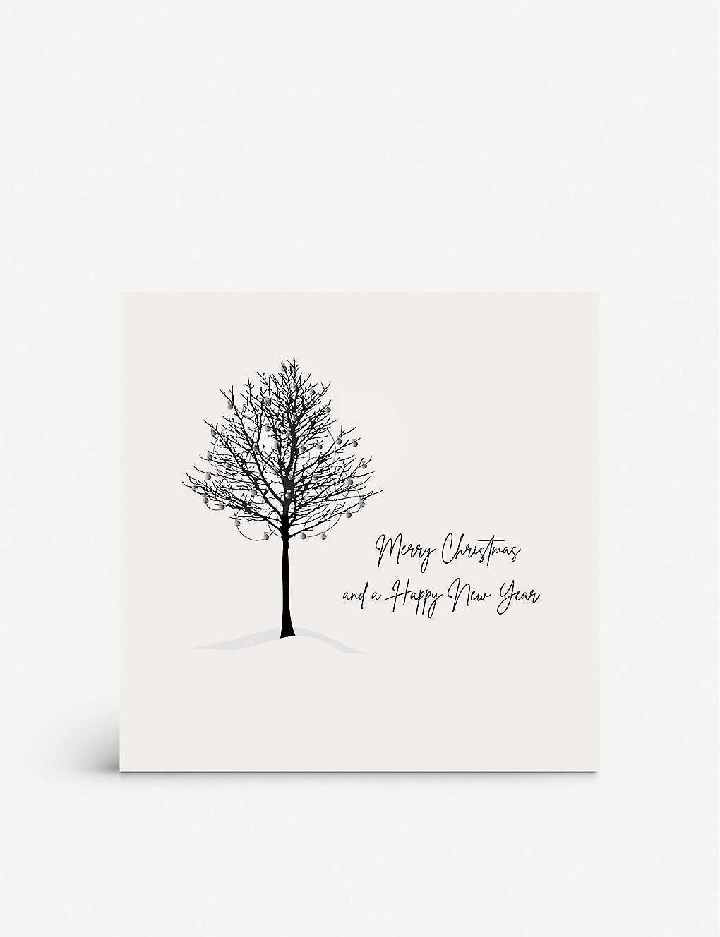 FIVE DOLLAR SHAKE: Merry Christmas and a Happy New Year greetings card 17cm x 17cm