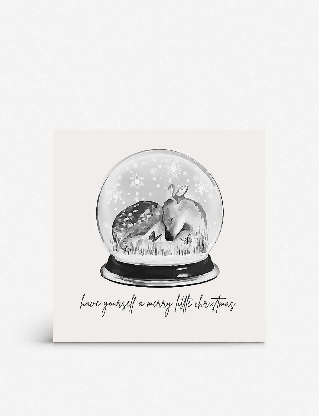 FIVE DOLLAR SHAKE: Have Yourself a Merry Little Christmas greetings card 17cm x 17cm