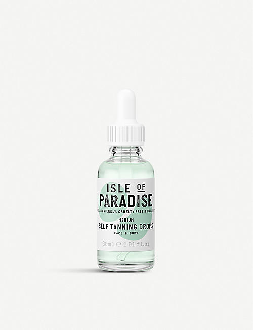 ISLE OF PARADISE: Light self-tanning drops 30ml