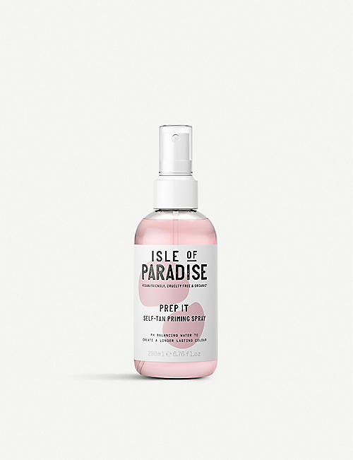 ISLE OF PARADISE: Prep It self-tan primer 200ml