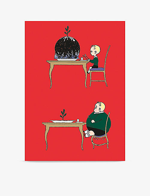 MUSEUMS + GALLERIES: Pudding Boy Christmas greetings cards set of 8