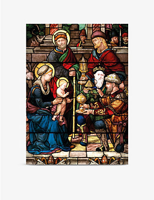 MUSEUMS + GALLERIES: Holy-print greetings cards set of 8
