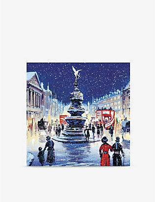 MUSEUMS + GALLERIES: Christmas in Piccadilly greeting card