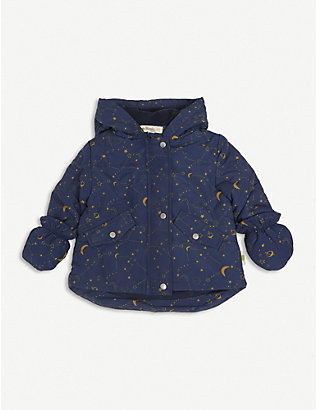 BONNIE MOB: Cosmos abstract-print woven jacket 3-24 months