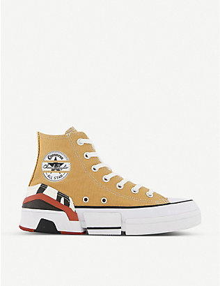 CONVERSE: CPX 70 canvas high-top trainers