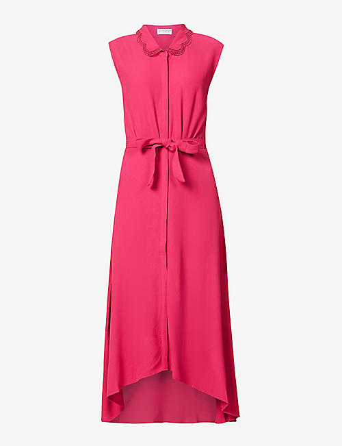 CLAUDIE PIERLOT: Rilana crepe maxi dress