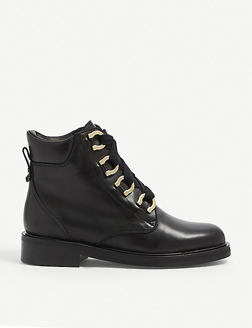 CLAUDIE PIERLOT: Aramis leather boots