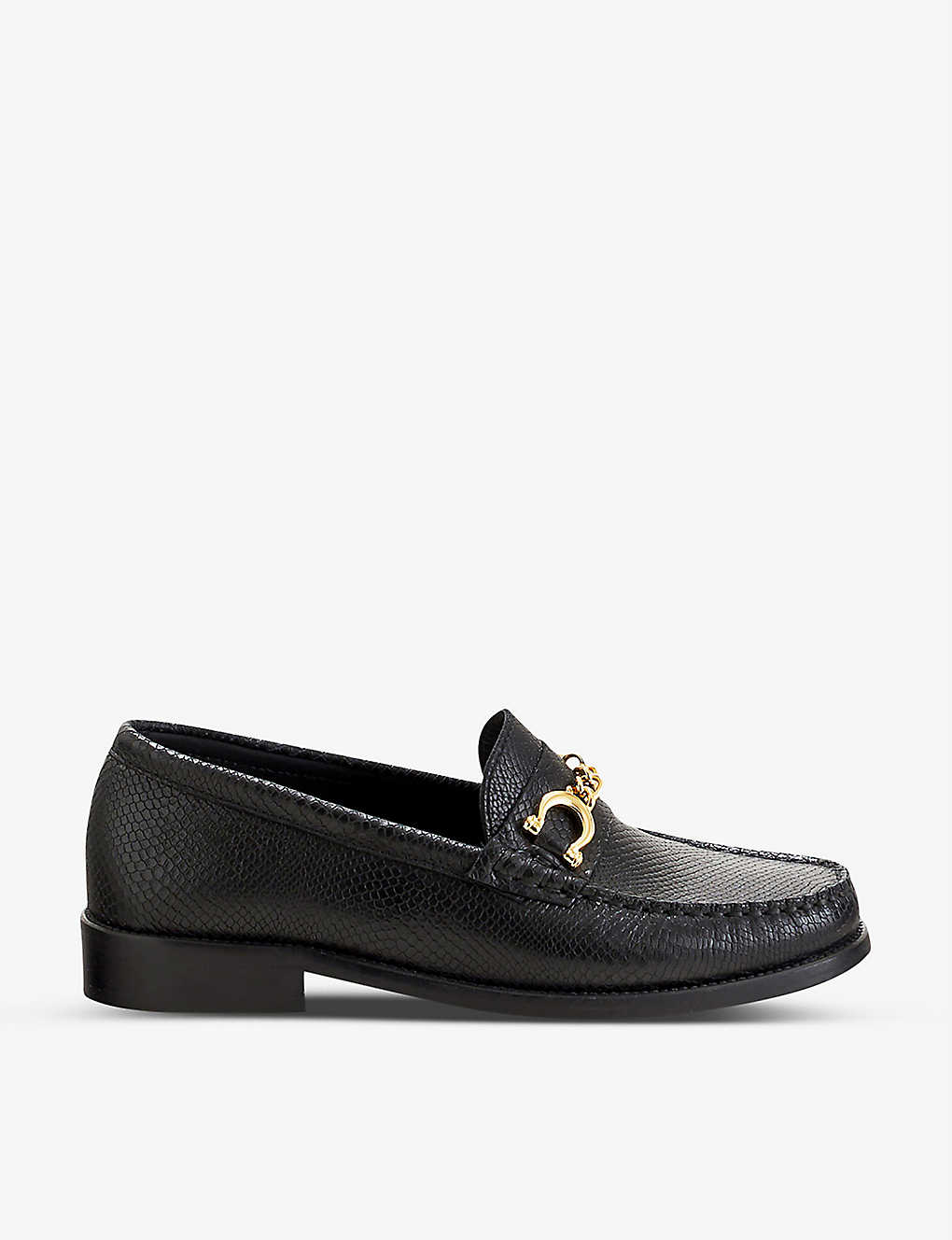 CLAUDIE PIERLOT: Amalice leather loafers