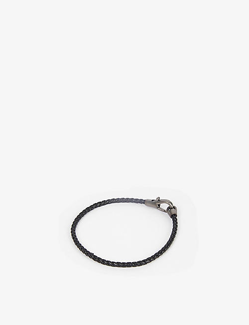 MIANSAI: Knox medium leather bracelet