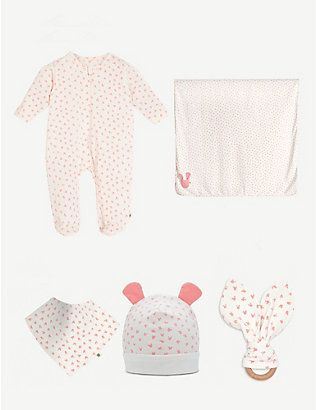 BONNIE MOB: Bumper organic cotton gift set 0-6 months
