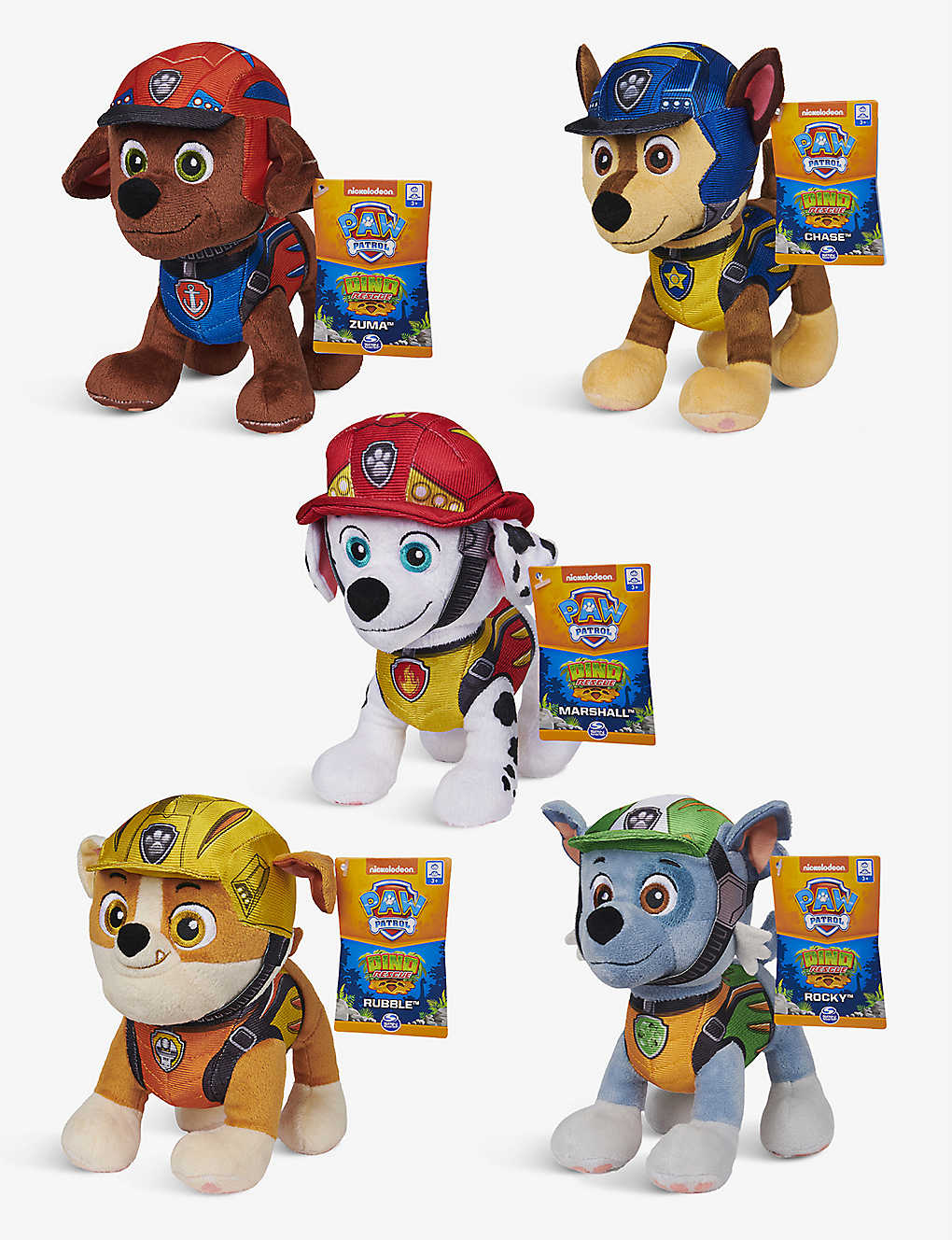 PAW PATROL: Dino Rescue Pup and Dinosaur assorted action figures