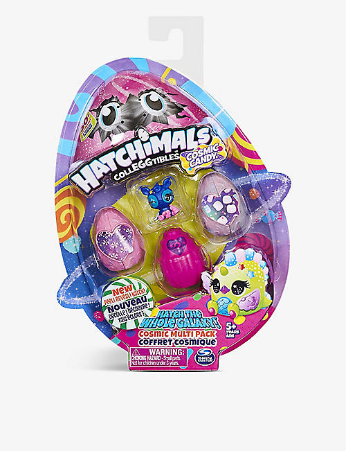 HATCHIMALS: Hatchibuddies egg assorted figure set of four