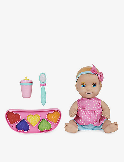LUVABELLA: Mealtime Magic Mia doll set