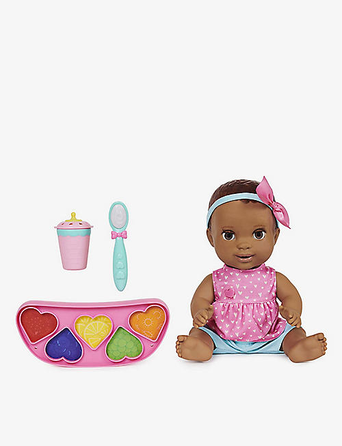 LUVABELLA: Mealtime Magic Maya doll set
