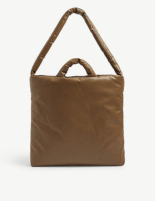 KASSL EDITIONS: Oil padded tote bag