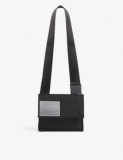 A-COLD-WALL: Logo-patch nylon cross-body bag