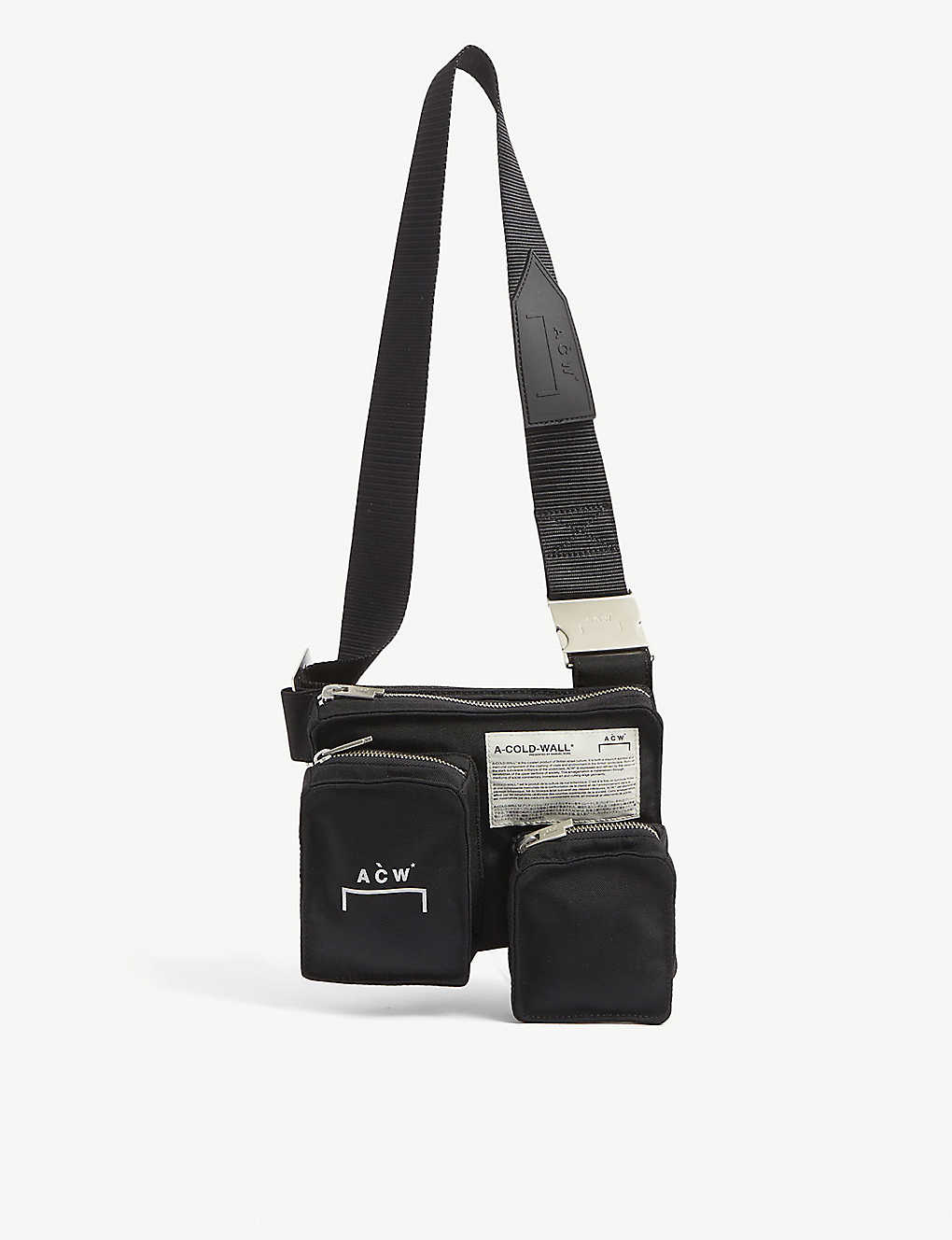 A-COLD-WALL: Pocket nylon holster bag