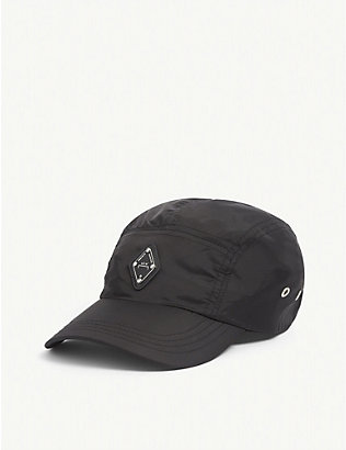 A-COLD-WALL: Logo-patch nylon cap