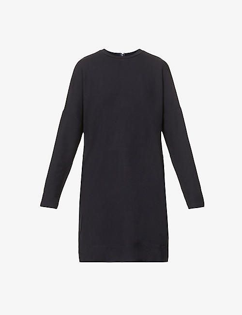 MAX MARA: Round-neck dropped-shoulder stretch-jersey top