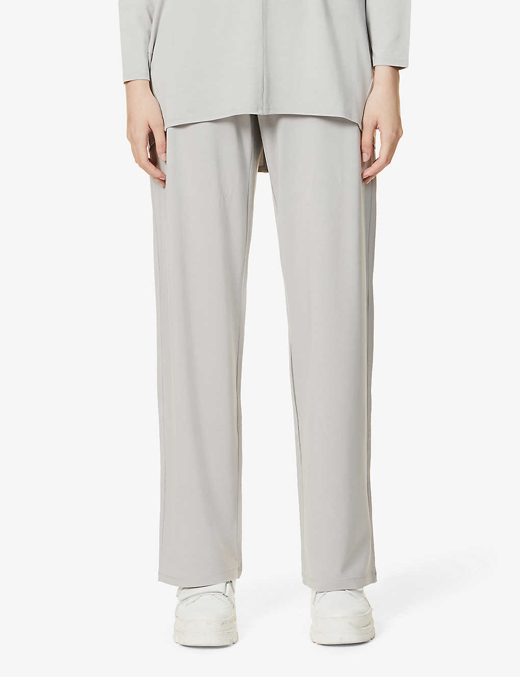 MAX MARA: Ercole wide-leg high-rise stretch-jersey trousers