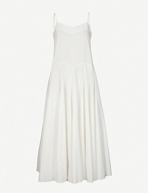THREE GRACES LONDON: Primrose cotton maxi dress