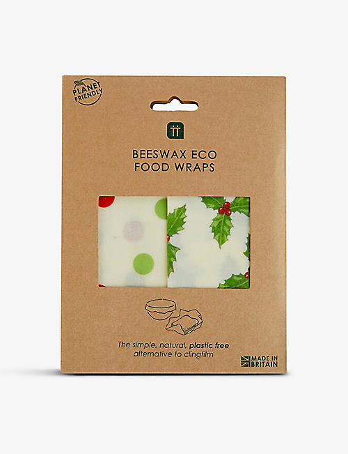 TALKING TABLES: Beeswax Eco Food Wraps