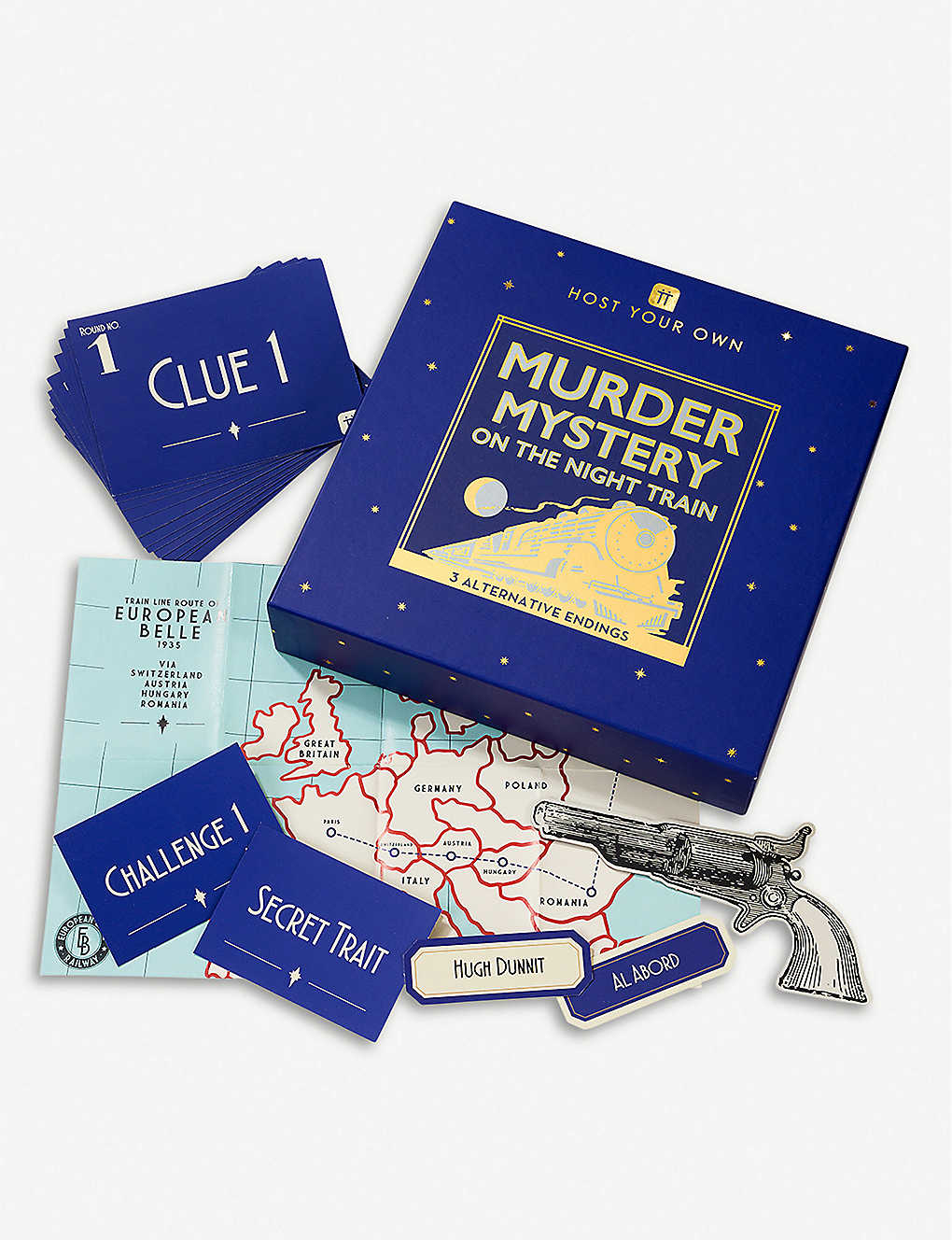 TALKING TABLES: Murder Mystery at the Theatre game