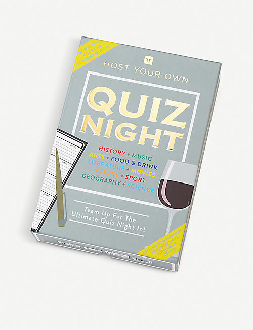 TALKING TABLES: Host Your Own Quiz Night