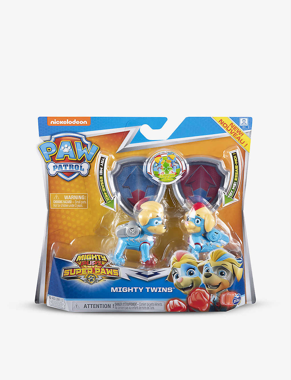 PAW PATROL: Mighty Twins Light Up set of two