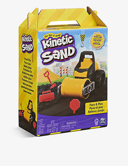 KINETIC SAND: Kinetic Sand Construction Paver set