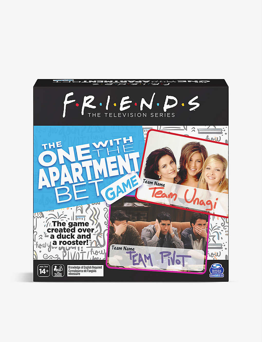 BOARD GAMES: Friends: They Lose Apartment board game