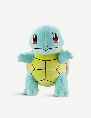 POKEMON: Squirtle soft plush toy 20cm 3 years +