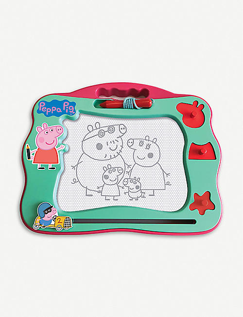 PEPPA PIG: Peppa's Magnetic travel scribbler