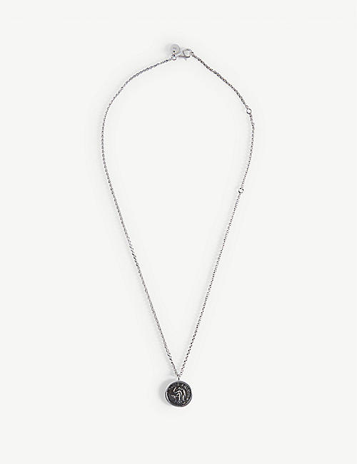 TOM WOOD: Angel sterling silver pendant necklace