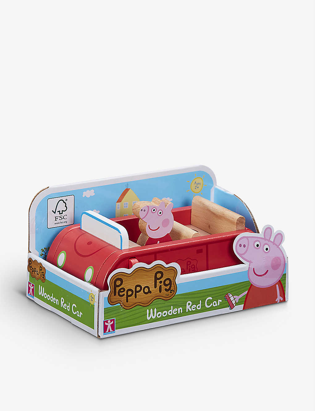 PEPPA PIG: Big Red wooden car