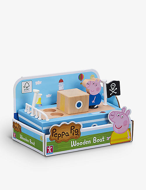 PEPPA PIG: Wooden Boat play set