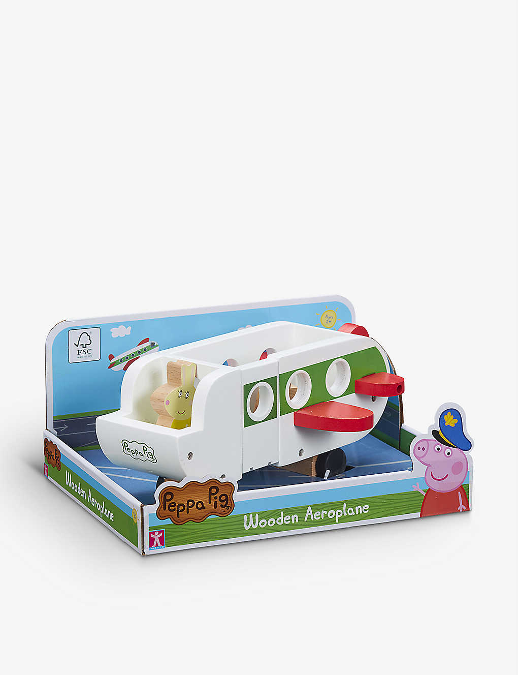 PEPPA PIG: Aeroplane wooden play set