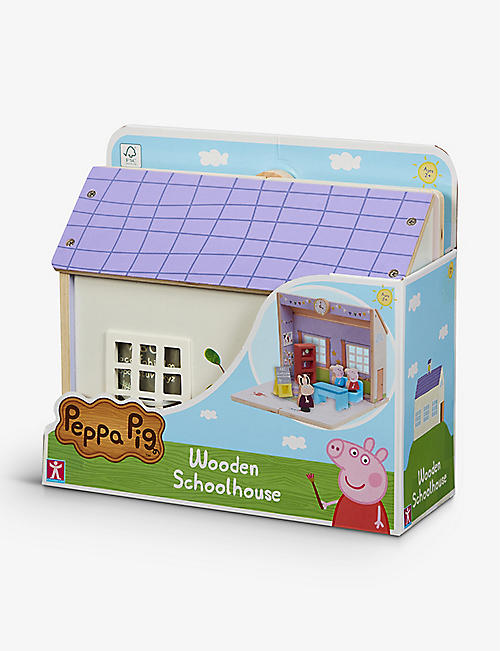 PEPPA PIG: Schoolhouse wooden play set