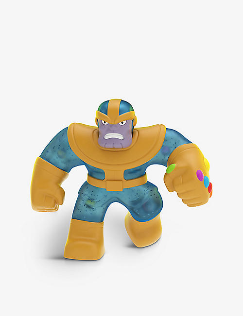 POCKET MONEY: Heroes of Goo Jit Zu Marvel Supagoo Thanos toy figure 20cm