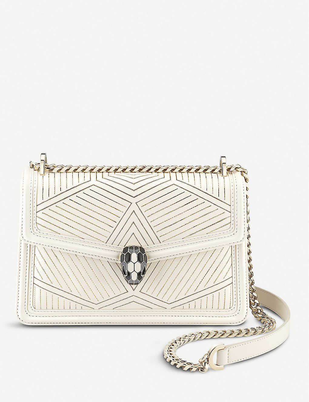 BVLGARI: Serpenti Forever quilted leather shoulder bag