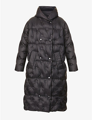STAND: Nicolina quilted shell-down coat