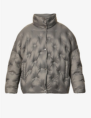 STAND: Sarah quilted shell-down jacket